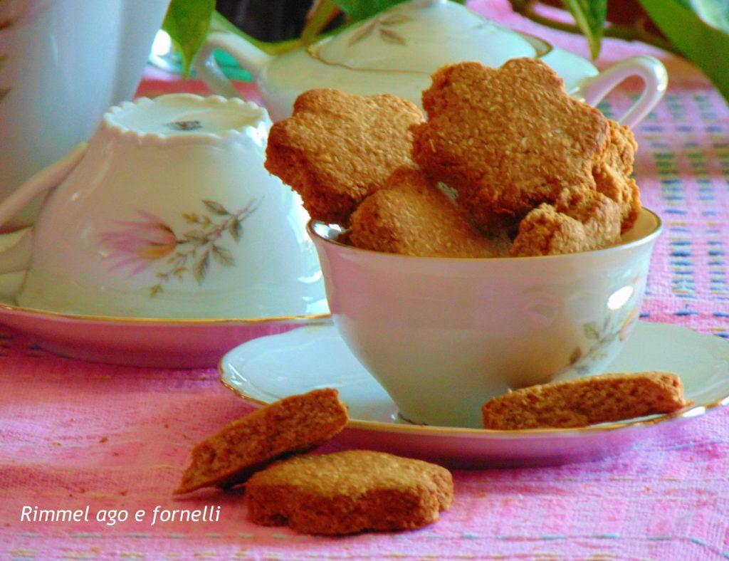 Biscotti morbidi mandorle e cocco
