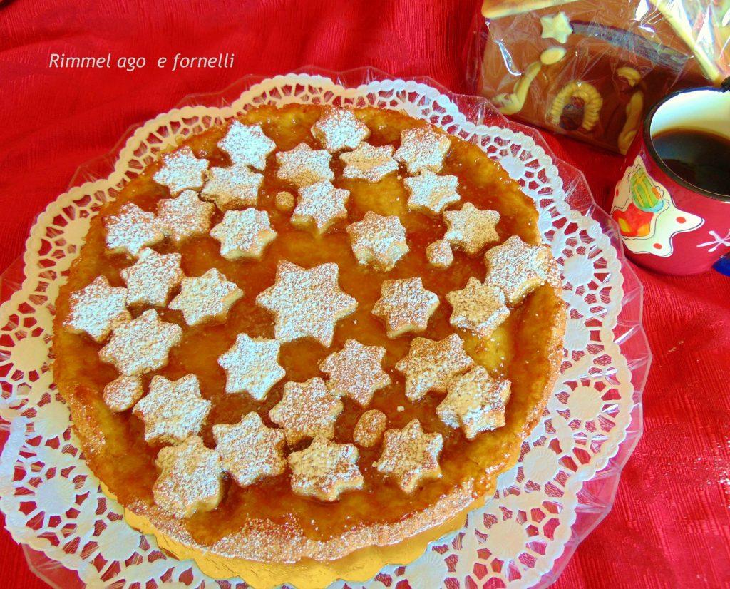 Crostata di farro e marmellata di arance