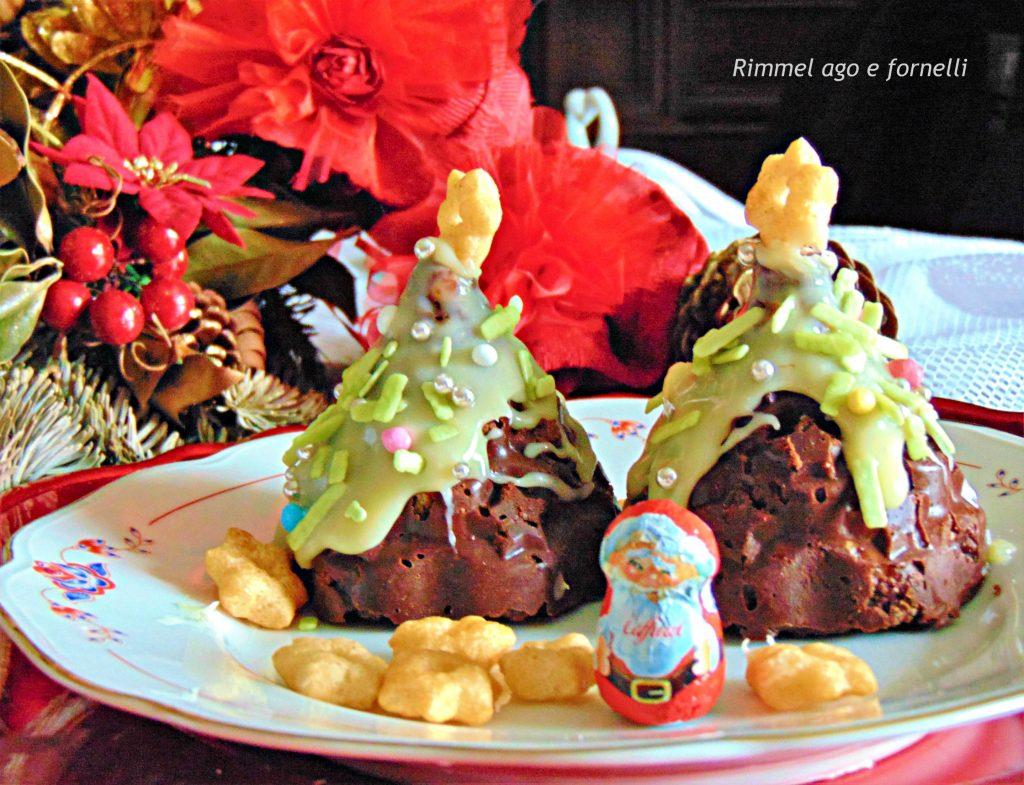 Alberello di biscotto al cioccolato