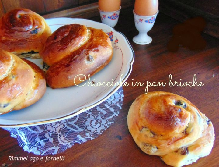 Chiocciole in pan brioche