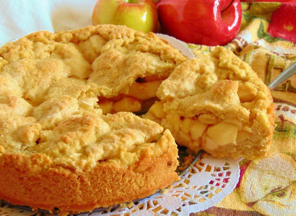 Crostata di mele rimmel ago e fornelli for Crostata di mele