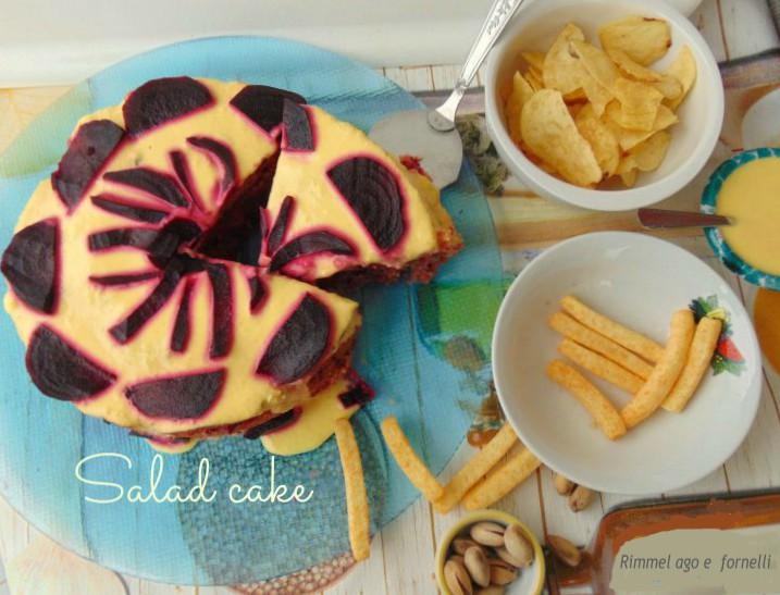 Salad cake o torta insalata