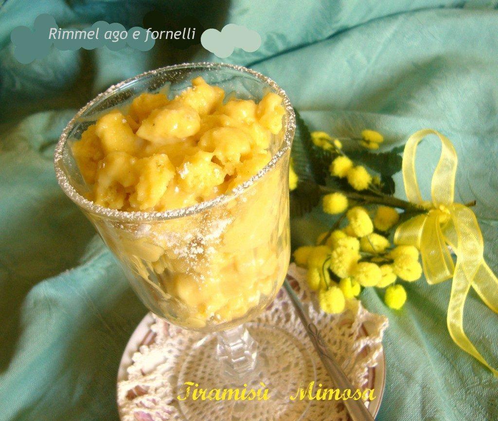 Tiramisù mimosa