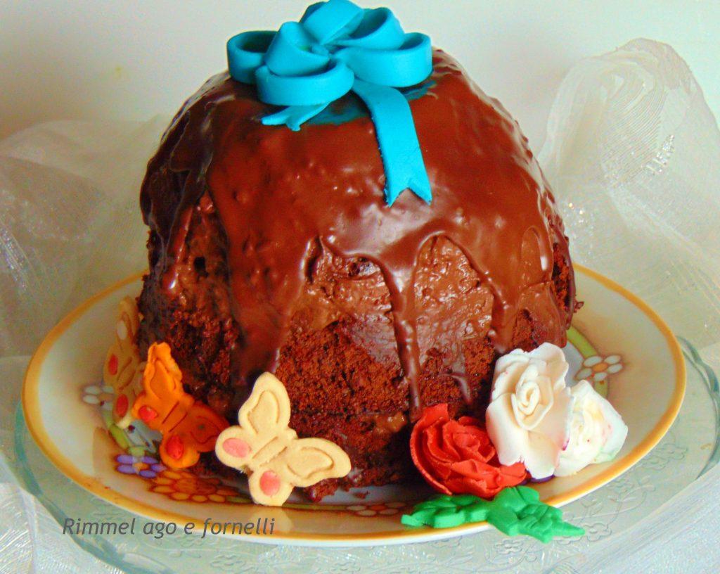 Torta uovo al cioccolato
